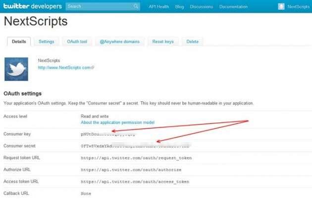 twitter crossposting 2 630x403 Кросспостинг в социальные сети из WordPress – подробные инструкции и примеры