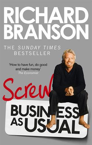 Ричард Брэнсон - бизнес – это не просто способ загребать кучу денег, а стремление помочь миру