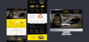 дизайн сайта по услугам эвакуатора